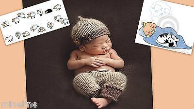 ★★★ NEU Baby Fotoshooting Kostüm Kleines Träumerle 0-3 Monate ★★★AE