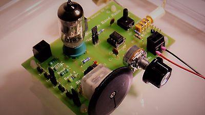Poldhu 5 Band Tube valve / Crystal / Op Amp Radio 550KHZ - 27 Mhz   DIY KIT