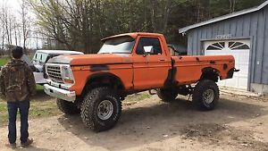 78 Ford F-150 12 inches of lift