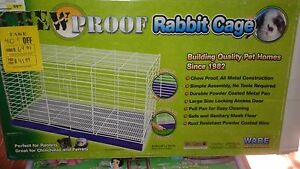 Chew proof cage
