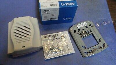 1 System Sensor Spectralert Hw-lf Sounder White. New In Box