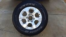 4x4 Tyre and 17inch rim from a holden colorado Salisbury Downs Salisbury Area Preview