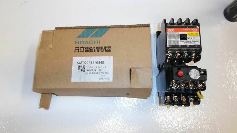 HITACHI CONTACTOR H10C-T *NEW IN BOX*