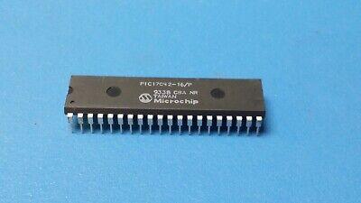 1 Pc Pic17c42-16p Risc Microcontroller 8-bit Otprom Pic Cpu 16mhz Cmos Pdip40