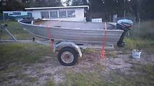 Stacer tinny 15hp Mariner and trailer Stanthorpe Southern Downs Preview