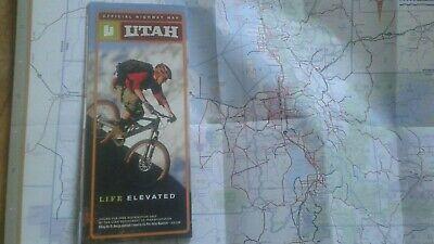 Landkarte, Reisekarte, Stadtplan Map USA Utah (Usa Reise-karte)