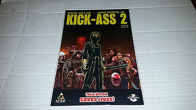 Kick Ass 2   3  Icon  Marvel  2010  1St Print