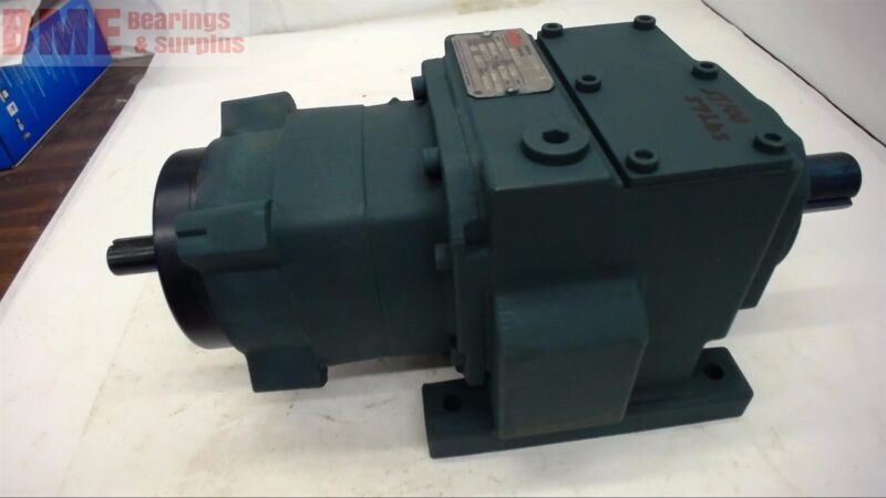 DODGE HB383SI71 INLINE GEAR REDUCER, 71.91:1 RATIO, .75 INPUT HP,