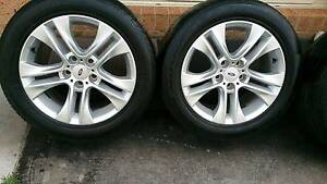 "17"" XR6 Rims and Tyres 235/50R17 Dandenong South Greater Dandenong Preview"