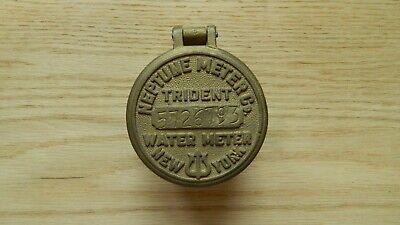 Vintage Neptune Meter Co. Trident Water Meter New York 5726793