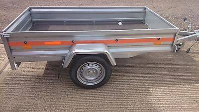 Car Trailer  Brand new Camping box 7ft Fully galvanised