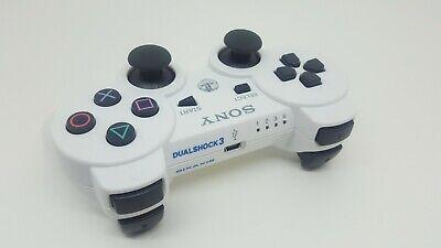 MANDO Blanco PS3 SIXAXIS DUALSHOCK 3 SONY PLAYSTATION 3 CONSOLA Inalambrico LEER