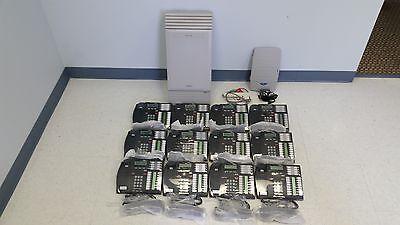 Nortel Norstar Mics Phone System 12 T7316 Phones Caller Id Callpilot 100 Vm
