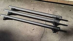Genuine Hyundai iLoad Roof Racks, heavy duty 3 bars Winmalee Blue Mountains Preview