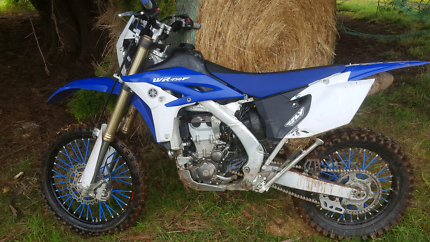 2015 wr450f swaps for a fishing boat