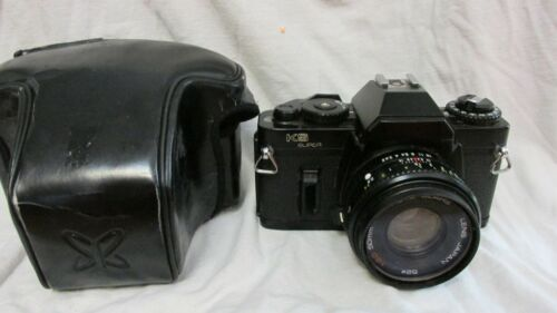 VINTAGE 1980s SEARS KS SUPER Camera W/ SEARS 50MM LENS BY RICOH CAMERA WORKS!!