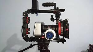 Blackmagic Design Cinema Camera EF - With Lenses,Tripod,case,fcus Rosemeadow Campbelltown Area Preview