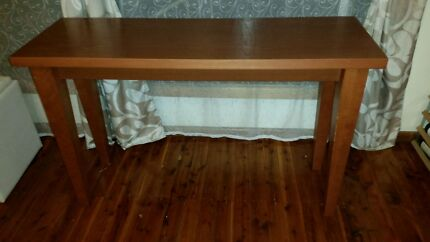 Lacquered Solid Wood hall / side table  Blacktown Blacktown Area Preview