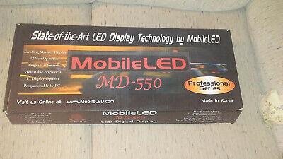 Mobileled Md-550 Programmable Led Display - Nos