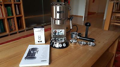 DeLonghi Dedica EC 680 Silber 4 Tassen Espressomaschine neu