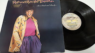 """PATRYCE """"CHOC'LET"""" BANKS - She's Back and Ready 1980 SOUL FUNK T-Electric PROMO"""