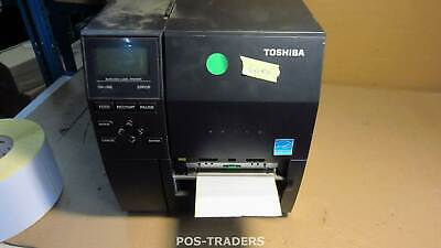 TOSHIBA B-EX4T2-GS12-QM-R Thermo DT/TT Label Drucker Cutter USB + LAN - 5.0KM