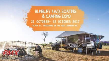 Bunbury Show Time Oct 21 with PMX Caravans & Camper Trailers