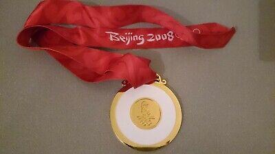 Goldmedaille Gold Olympia Olympische Spiele Medaille Beijing Peking 2008