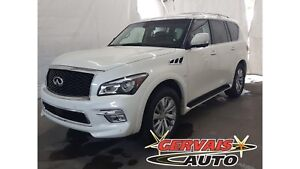 Infiniti QX80 AWD Cuir Toit Ouvrant MAGS Cam 2017