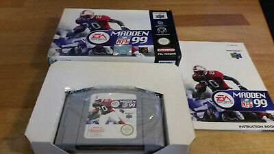 Madden 99 Nintendo 64 N64 PAL OVP CIB #2