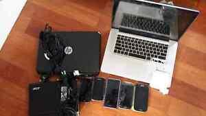 used laptops + phones bundle Camperdown Inner Sydney Preview