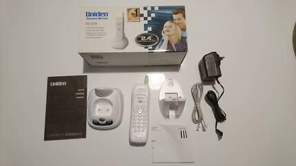 Cordless phone (uniden xs 1210)