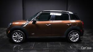 2014 Mini Countryman Cooper S HEATED SEATS! LEATHER! AWD! PUS...