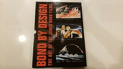 Bond by Design The Art of the James Bond Films by DK Rare with Bonus Books
