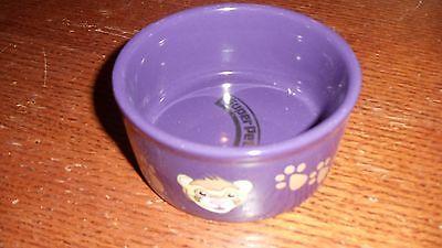 SuperPet Ferret Cage Ceramic Food Water (Super Pet Ceramic)