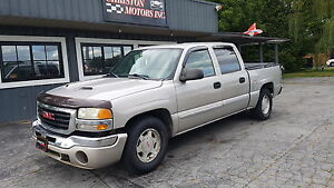 2004 Gmc SIERRA CREW CAB! 5.3L! SAFETIED ETESTED ONLY  $3999+tax