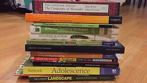 Various education and teaching books - English and History Medowie Port Stephens Area Preview
