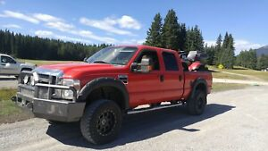 2008 f350  red