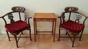 Chinese Rosewood Table Set for Sale Chatswood Willoughby Area Preview