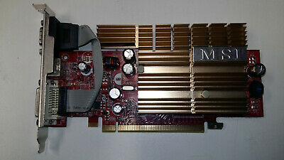 Carte graphique PCI-E MSI GF NX7300GS 256Mb DDR2 TESTED