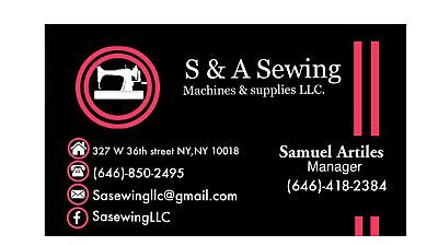S&A Sewing Supplies and Machines