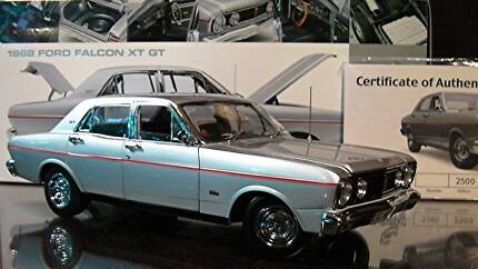 """1:18 Ford 1968 XT FALCON GT """"SILVER"""" - RARE"""