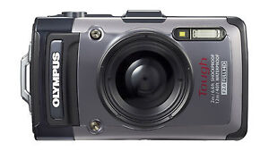 Olympus TG-1 iHS 12MP Waterproof Digital Camera w/ 4x Optical Zoom V104090SU000