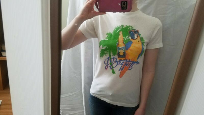 Vintage Jimmy Buffett Tour Shirt 1987 with Coral Reefer Band