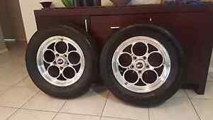 Weld Magnum wheels Ford Valiant car wheels Redcliffe Redcliffe Area Preview
