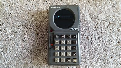 Toshiba TOSCAL BC-602L Hand Held Calculator circa 1972