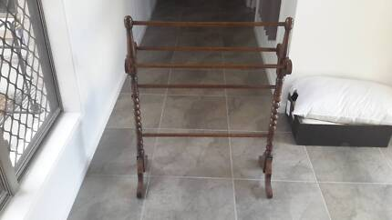 Antique Towel Stand