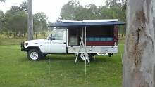 Toyota Landcruiser with Twin camper back VGC Buccan Logan Area Preview