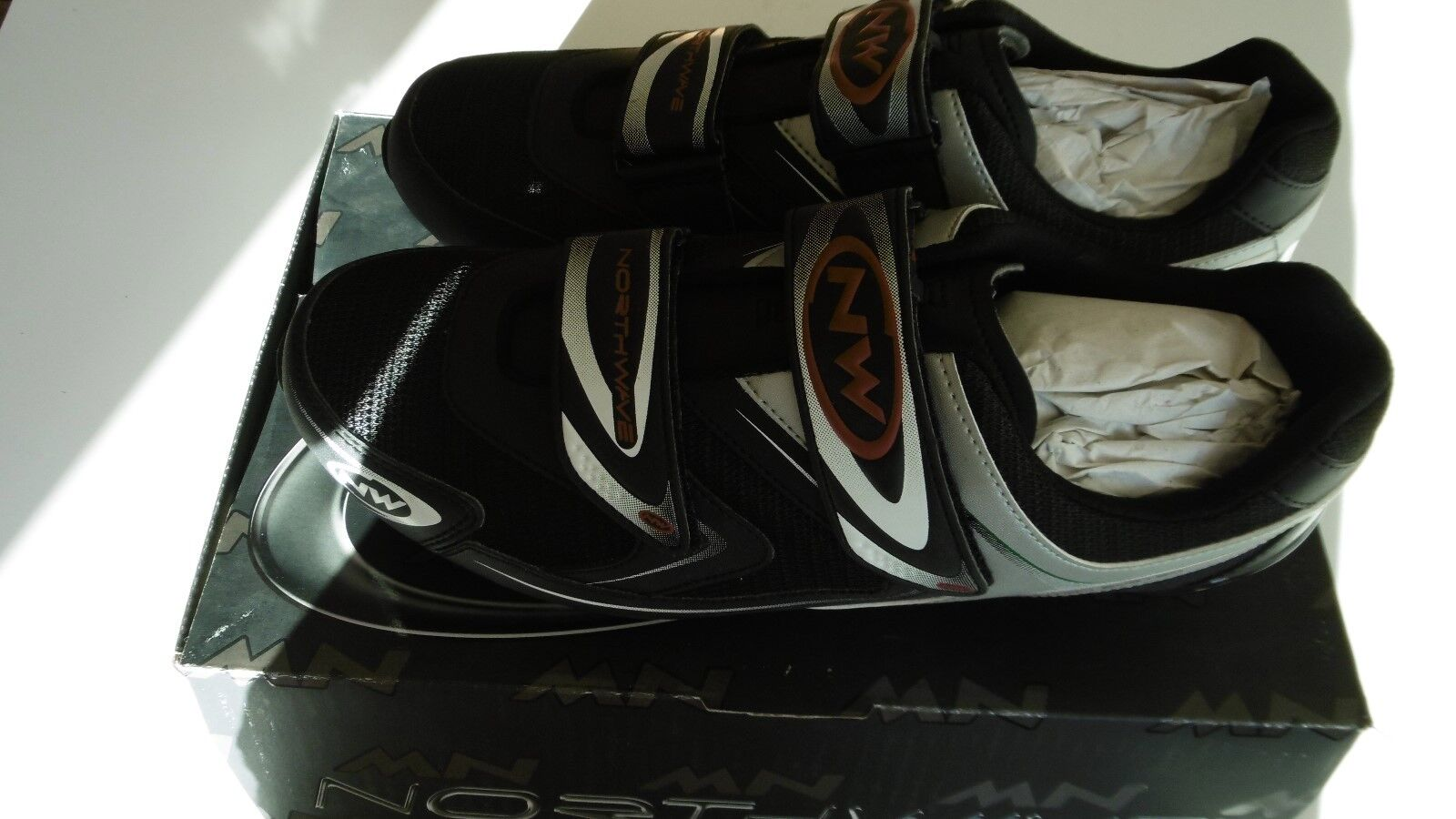 Northwave Spike Black Shoes Size 45 New In Box