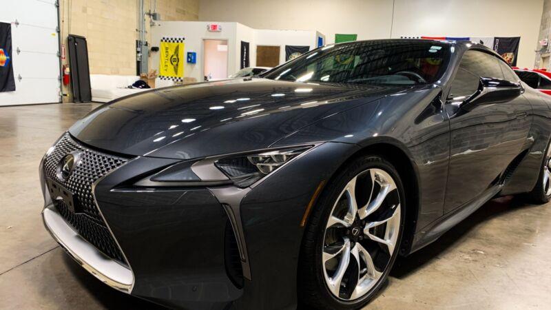 Image 5 Voiture Asiatique d'occasion Lexus LC 2018